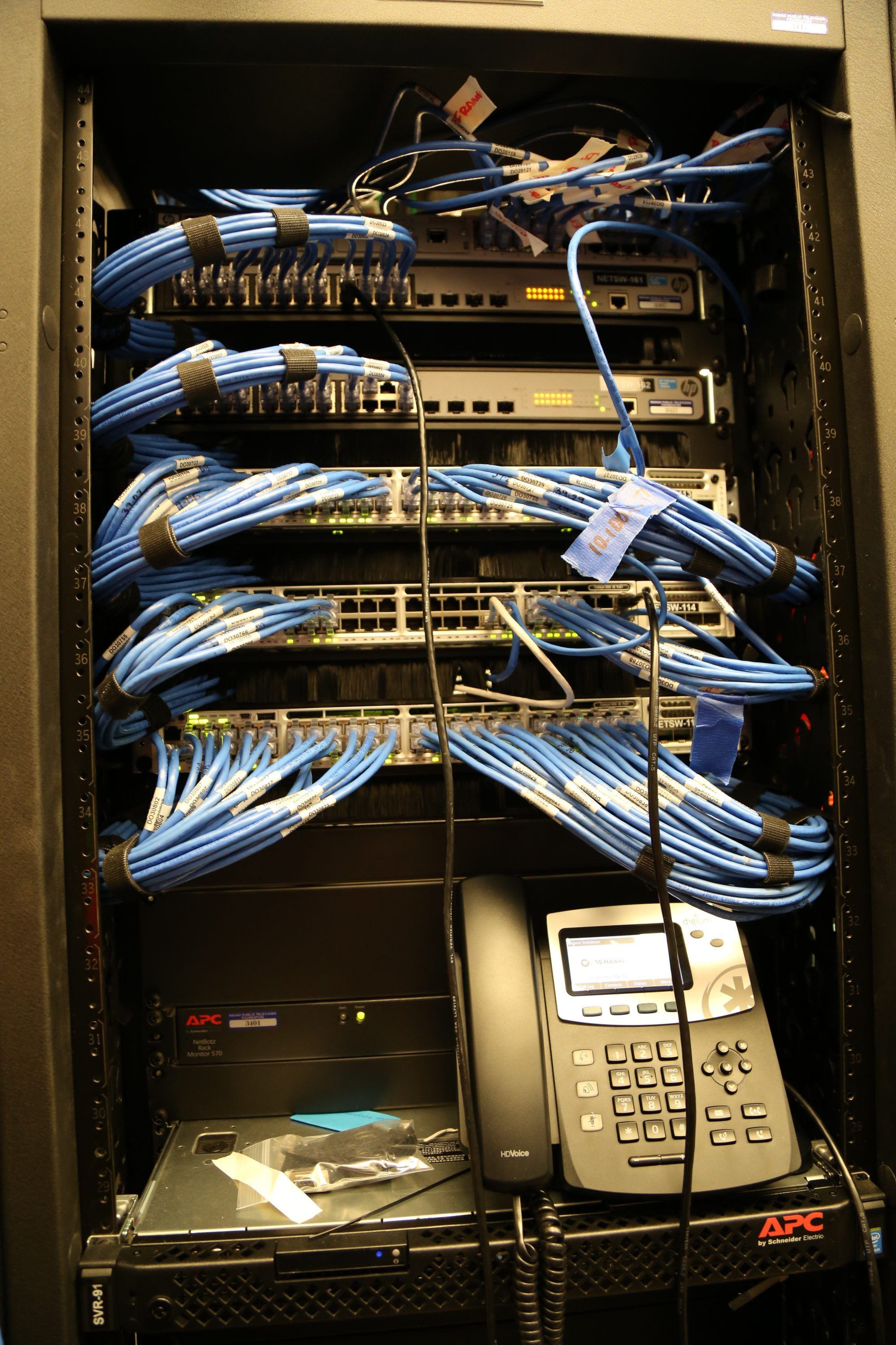 Digium PBX and Cabling